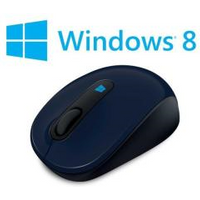 Image of Mouse Sculpt mobile mouse - mouse - 2.4 ghz - wool blue 43u-00014
