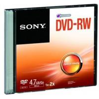 Image of DVD Dvd-rw x 1 - 4.7 gb - supporti di memorizzazione dmw47ss