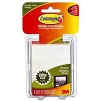 Command Picture Hanging Strips Medium & Large [Pack 12] - 70006901741