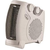 2KW Flat Fan Heater White CRHFF06/H - 41540