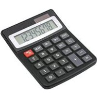 5 Star Office Desktop Calculator Dual powered 8 Digit Display 3 Key