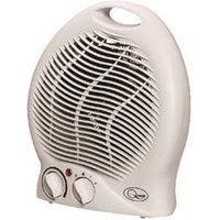 2kW Upright Fan Heater White CRHUF04/H - 42540