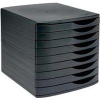 5 Star Elite Desktop Drawer Set 9 Drawers A4 and Foolscap Black  Black