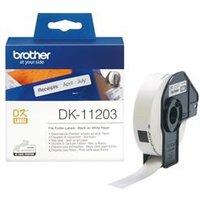 Brother DK Labels DK-11203 17mm x 87mm File Folder Labels 300 DK11203