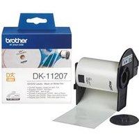 Brother DK Labels DK-11207 (58mm x 58mm) CD/DVD Labels (100 Labels)