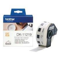Brother DK Labels DK-11219 12mm Diameter Round Continuous DK11219