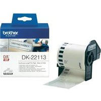 Brother DK Labels DK-22113 (62mm x 15.24m) Continuous Clear Film Tape