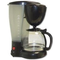 Filter Coffee Maker Single Jug Capacity 8-10 Cups Black
