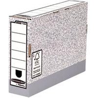 Image of Fellowes Bankers Box Transfer File 80mm [Pack 10] - 1180001