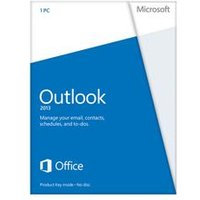 'Microsoft Outlook 2013 32-bit/x64 English Medialess - 543-05747