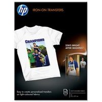 Hewlett Packard HP Iron-on T-Shirt Transfers 170gsm A4