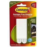 Command Picture Hanging Strips Large [Pack 4] - 17206