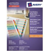Image of Avery ReadyIndex Dividers L7411-20 A4 1-20 Numeric - 01966501