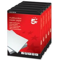 5 Star Office Copier Paper Multifunctional Ream-Wrapped 80gsm A4