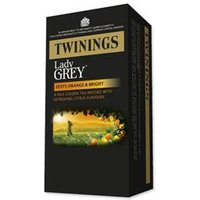 Twinings Tea Bags Lady Grey  Pack 20    0403261