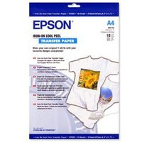 Epson Transfer Paper Iron On 124gsm A4 White - C13S041154