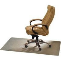 Ecotex Revolution Chair Mat For Hard Floors Clear   FCECO3648AEP