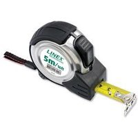 Linex Measuring Tape Steel-cased Polyester-coated