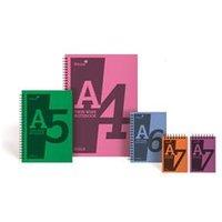 Silvine Notebook Wirebound Polypropylene 60gsm [Pack 5] - POLYA4AC