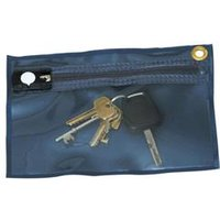 Tamper Evident Key Wallet 230x152mm Blue   KW1