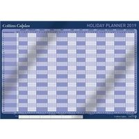 Collins 2019 Colplan Holiday Planner A1 with Activity - CWC10 2019