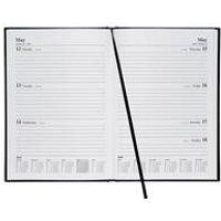 5 Star Office 2019 Diary Week to View A5 Black - 941165