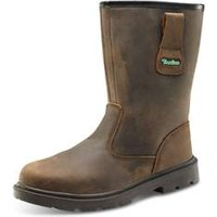 Click Traders S3 Pur Rigger Boot Brown 05 - CTF48BR05