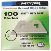 Pacific Handy Cutter Safety Point Blades (Pack 100) - SP-018