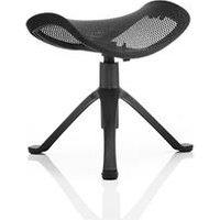 Ergo Dynamic Footstool Black Frame Black Mesh   PO000023