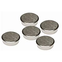 Franken 30mm Chrome Magnets Pack 5   HM30CR 5
