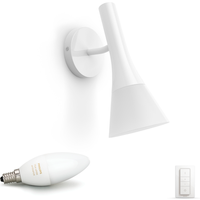 Philips Hue Explore Wall Lamp White (Dimmer Switch Included)
