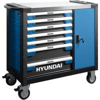 Hyundai gevulde gereedschapskar 305-delig gereedschapswagen-gereedschapstrolley-verrijdbare werkbank