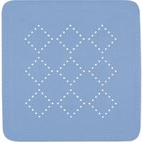 Spirella Alaska Anti Slip Mat Lichtblauw 55x55