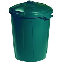 Allibert Magnum groen -Straatvuilbak 70L