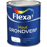 Flexa grondverf wit 750ml