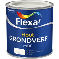 Flexa MDF grondverf wit 250ml