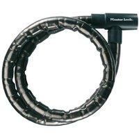 MASTER LOCK kabelslot PanzR 8115, zwart