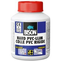 Bison Hard PVC Lijm 100 ml flacon + kwastje