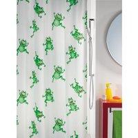 Spirella Frogtime Douchegordijn 180x200 Groen