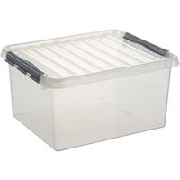 Sunware Q-line opbergbox 36 liter transparant