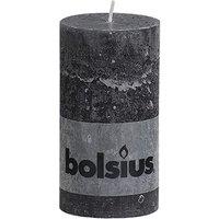 Bolsius Stompkaars rustiek Antraciet 130-68