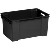 Opbergbox Vulcano 50l- Zwart Allibert
