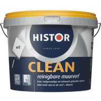 Histor latex Clean mat wit 5L
