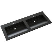 Allibert wastafel Slide polybeton 120cm zwart