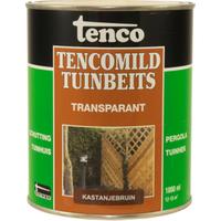 Tencomild tuinbeits transparant kastanjebruin 1L