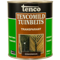 Tencomild tuinbeits transparant donkerbruin 1L