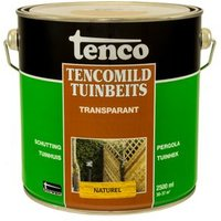 Tencomild tuinbeits transparant naturel 2,5L