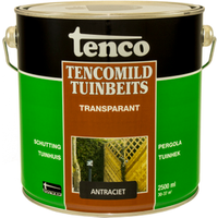 Tencomild tuinbeits transparant antraciet 2,5L