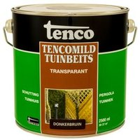 Tencomild tuinbeits transparant donkerbruin 2,5L