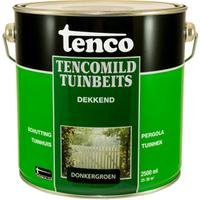 Tencomild tuinbeits dekkend donkergroen 2,5L